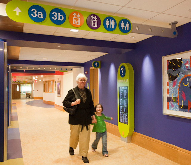 Children S Hospital Of Pittsburgh Wayfinding System Flickr