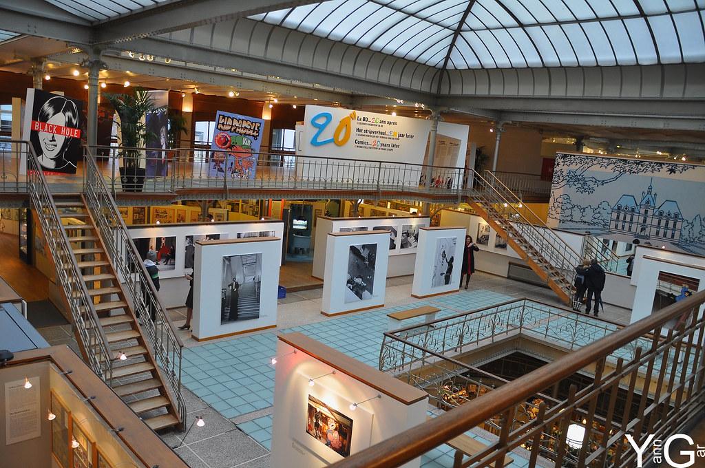 Resultado de imagen de centro belga del comic