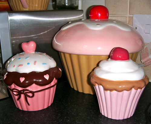 cupcake kitchen accessories decor my kitchen up of cupcake cookie jar amp money boxes 6323