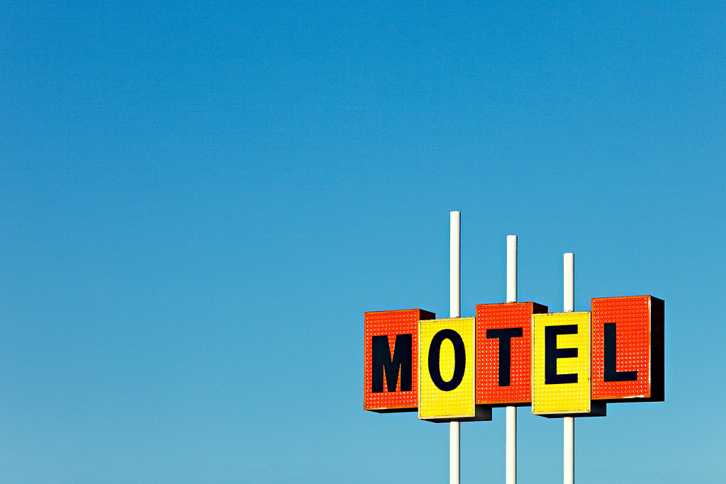 Little Motel Sign An Anonymous Amp Equally Ubiquitous
