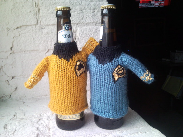 Star Trek Season One Beer Koozie Ravelry Pattern Star Tre Flickr