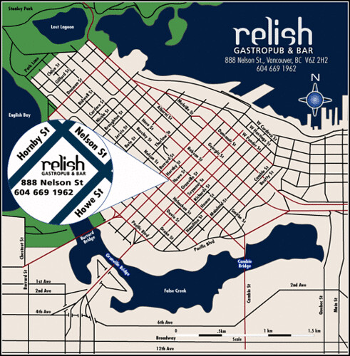 Relish GastroPub & Bar | 888 Nelson Street Vancouver BC | by scout.magazine