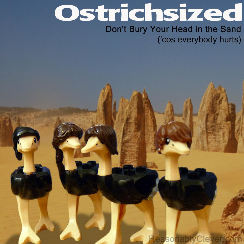 Ostrichsized