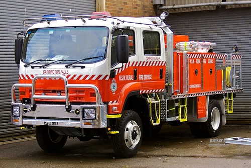 NSW RFS Carrington Falls 1 | A new Category 1 Tanker for ...