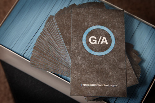 Greg Anderson Photo Business Card | by Cranky Pressman