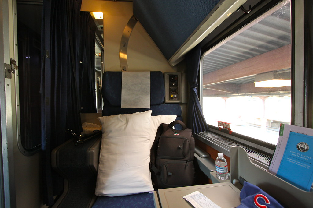 Amtrak Roomette Dan Gaken Flickr
