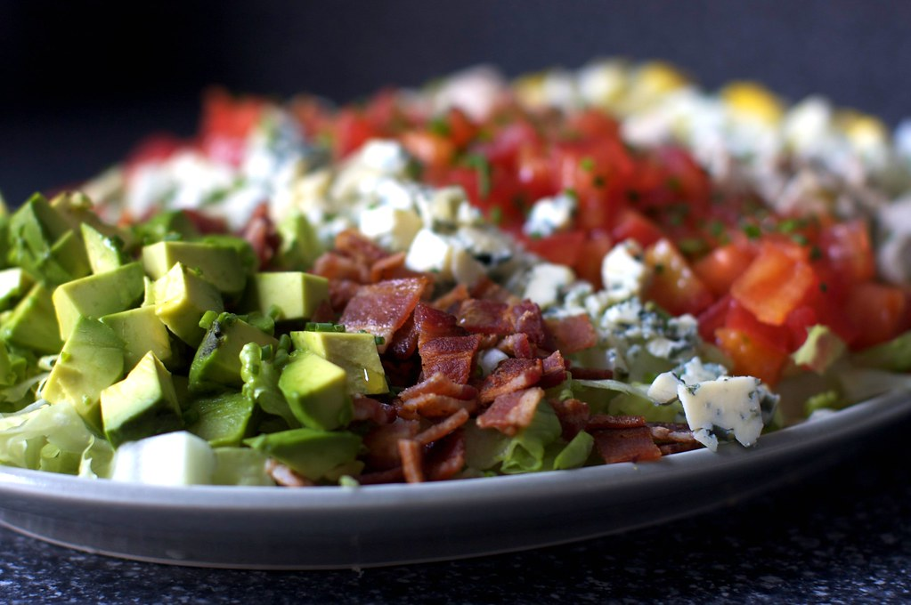 avocado, bacon and blue cheese | Flickr - Photo Sharing!