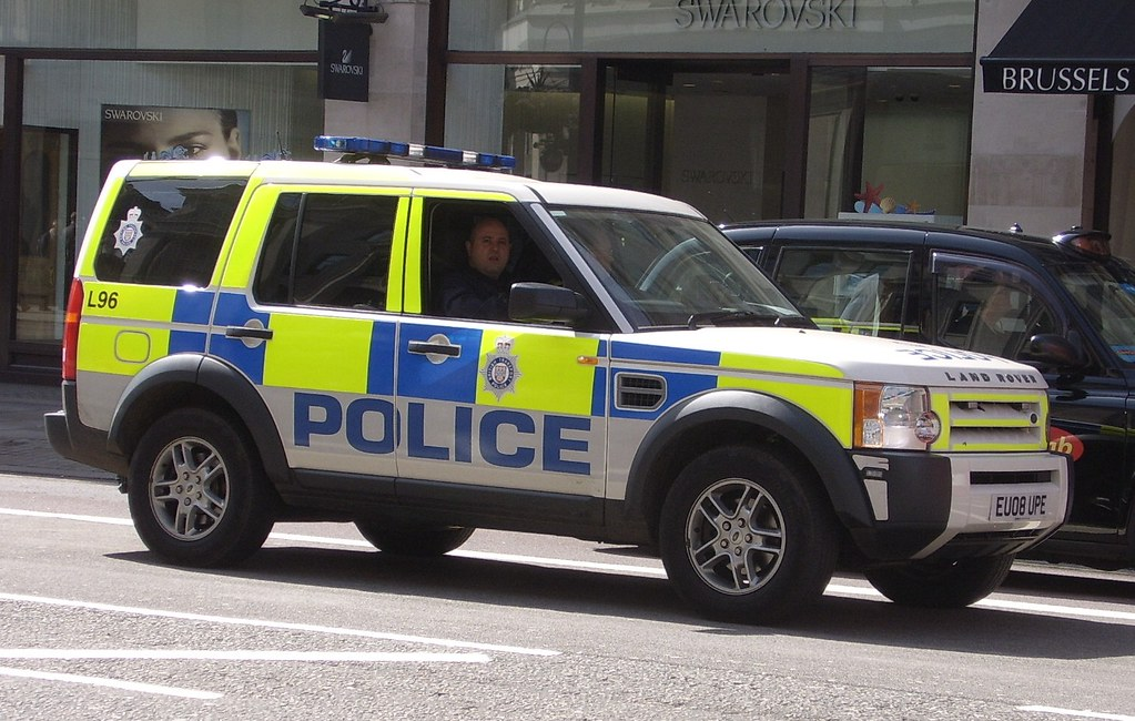 British Transport Police Landrover I Think I Was Ambling