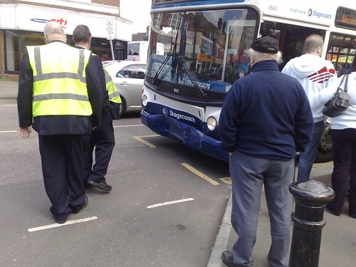 stagecoach in peterborough bus crash ae06 gzk while. Black Bedroom Furniture Sets. Home Design Ideas