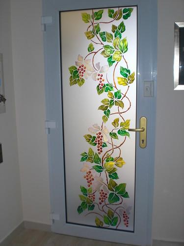 Vidrio decorado vidrio decorado con vidrio de seguridad - Cristales decorativos para puertas de interior ...