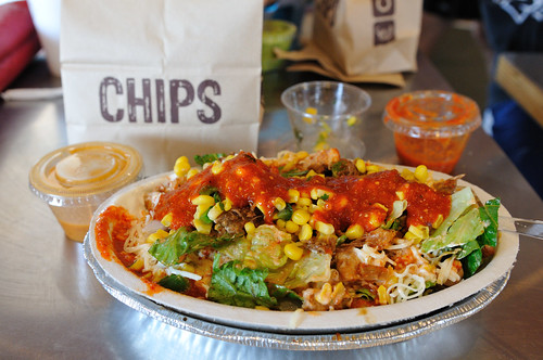 Chipotle Salad :) | by Mike Saechang