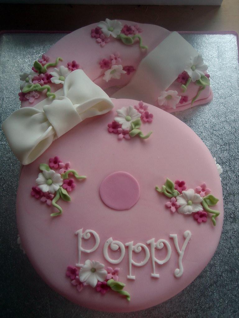 Poppys Number 6 Cake Poppys Birthday Cake Melissa Edwards Flickr