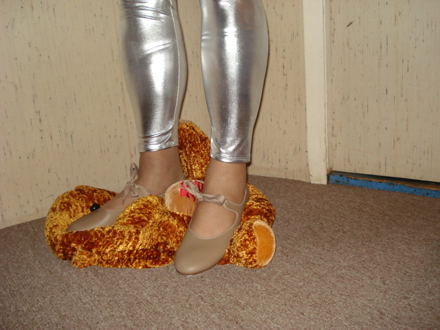 Trample teddys face   Tap shoe to teddys face ... Soccer Cleats