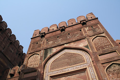 Agra castle in India | by kimama_labo