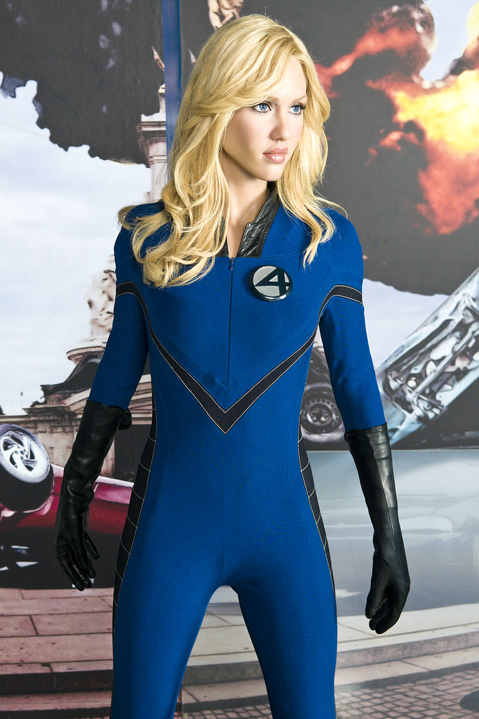 Jessica alba as invisible woman jessica alba as the - Femme invisible 4 fantastiques ...