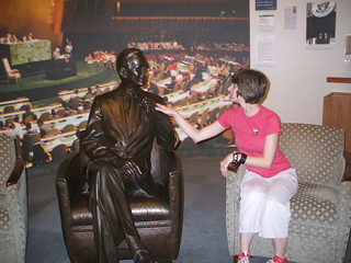 5/31/10 - George Bush Presidential Library and Museum: Me | by mavra_chang