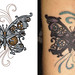 steampunk butterfly tattoo