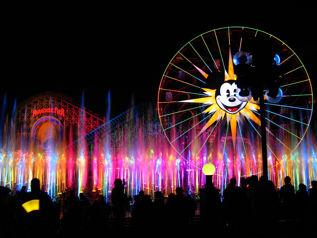 World of Color Winter Dreams World Premiere at Disney California