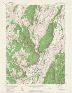 Amenia Quadrangle 1958 - USGS Topographic 1:24,000 | by uconnlibrariesmagic
