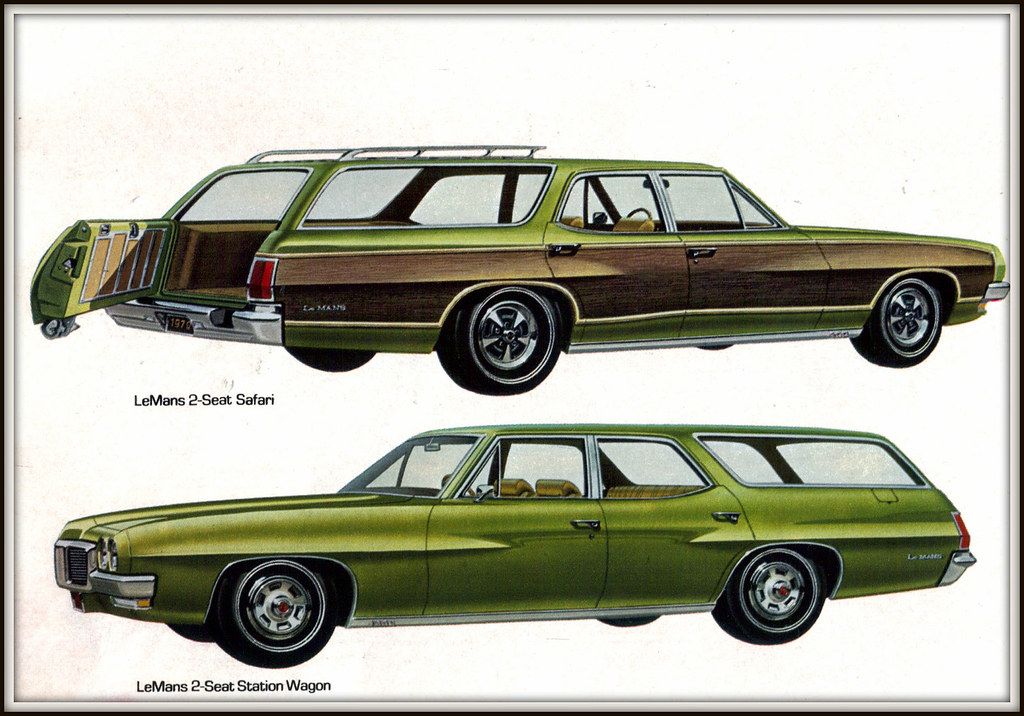 1970 Pontiac LeMans Safari Station Wagon | coconv | Flickr