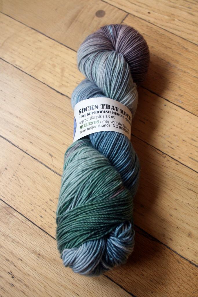 bsg2010 blue moon fiber arts socks that rock mill end flickr