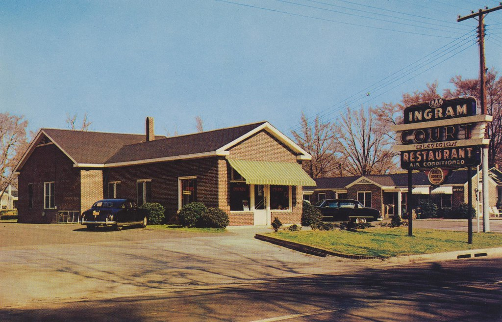 Ingram Court Restaurant & Motel - Cheraw, South Carolina