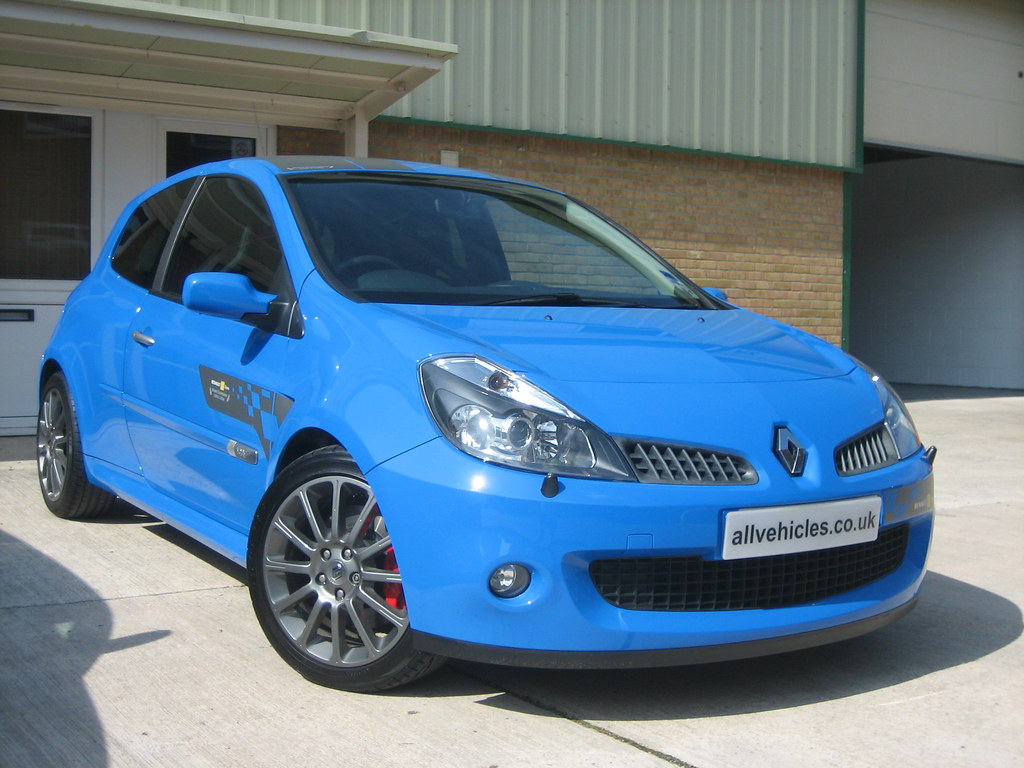 2007 renaultsport clio 197 f1 team r27 french racing blue flickr. Black Bedroom Furniture Sets. Home Design Ideas