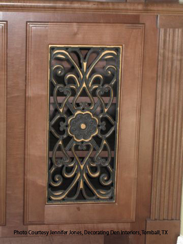 Genial ... Faux Iron Cabinet Insert | By Tvonschimo