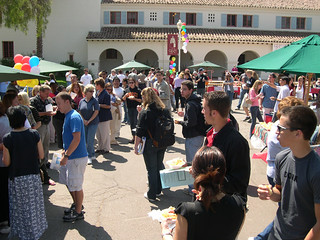 Students Attending Taste of CI | by California State University Channel Islands