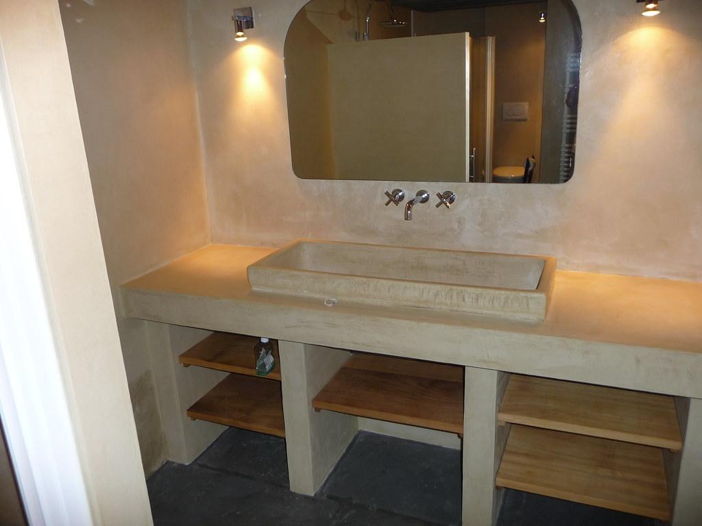 Beton Ciré Salle De Bain salle de bain béton ciré | batife beton | flickr