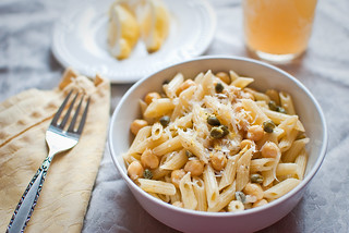 Chickpea + Lemon Pasta | by aubreyrose
