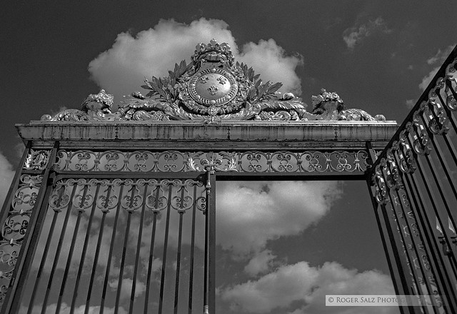 gate to heaven looking up at the gate and pediment at the flickr. Black Bedroom Furniture Sets. Home Design Ideas