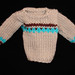 vintage 1960's hand knit sweater 002