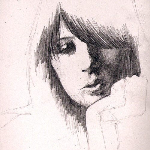 Daisy Lowe Sketch | by mikecreighton