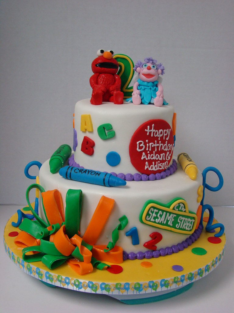 elmo and abby birthday cake this was a fun birthday cake f u2026 flickr on elmo abby birthday cake