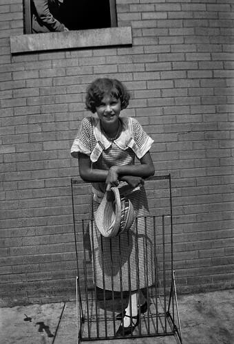 Unidentified young woman, Dayton, Tennessee, July 1925. | by Smithsonian Institution