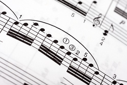 Fast musical notes on a music sheet | by Horia Varlan