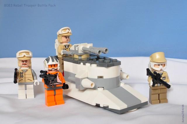 Lego Star Wars Rebel Trooper Battle Pack 8083 Sealed New