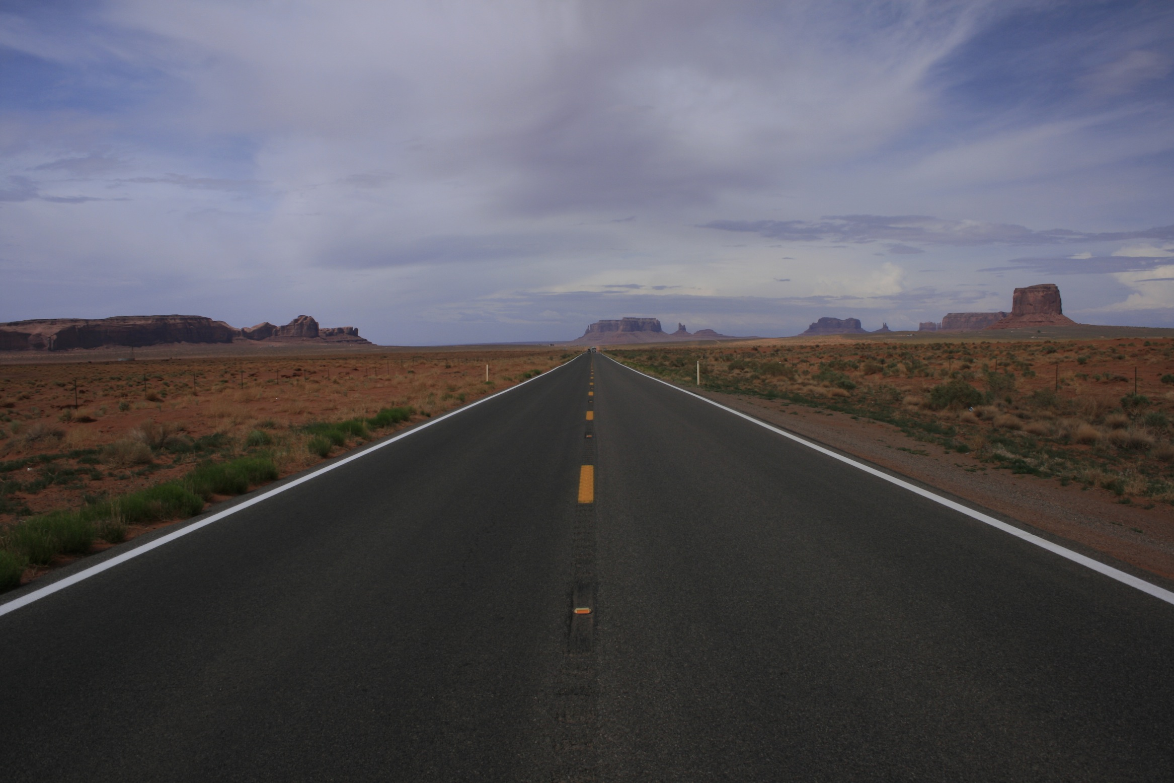 Roads to Monument Valley