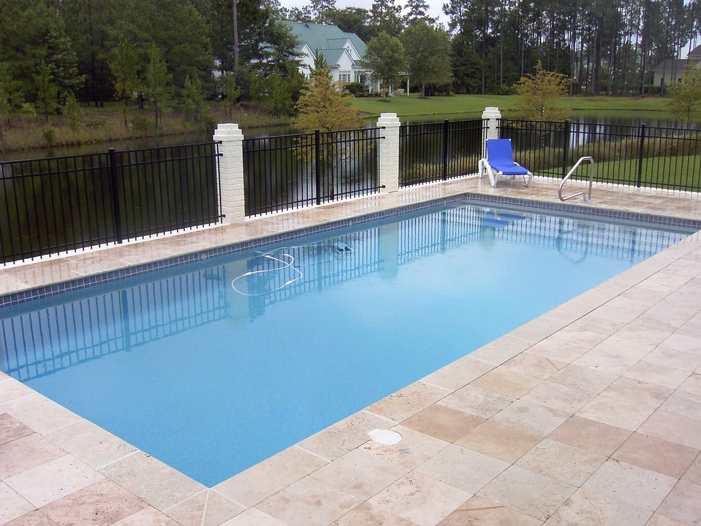 Smith pool and spa inc richmond hill ga flickr for Inground pool design inc