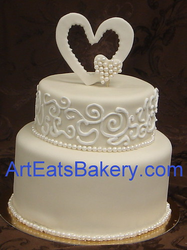 wedding cake royal icing designs two tier fondant wedding cake with royal icing curlicues a 23729