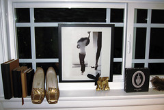 window sill - black and gold | by ...love Maegan