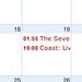 calendar from feed