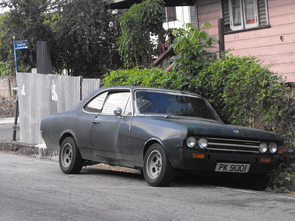 opel rekord c coupe one badass car owned by a mechanic in