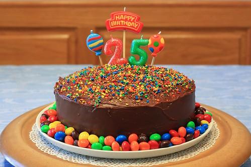 Derek S 25th Birthday Cake We Celebrated Derek S 25th