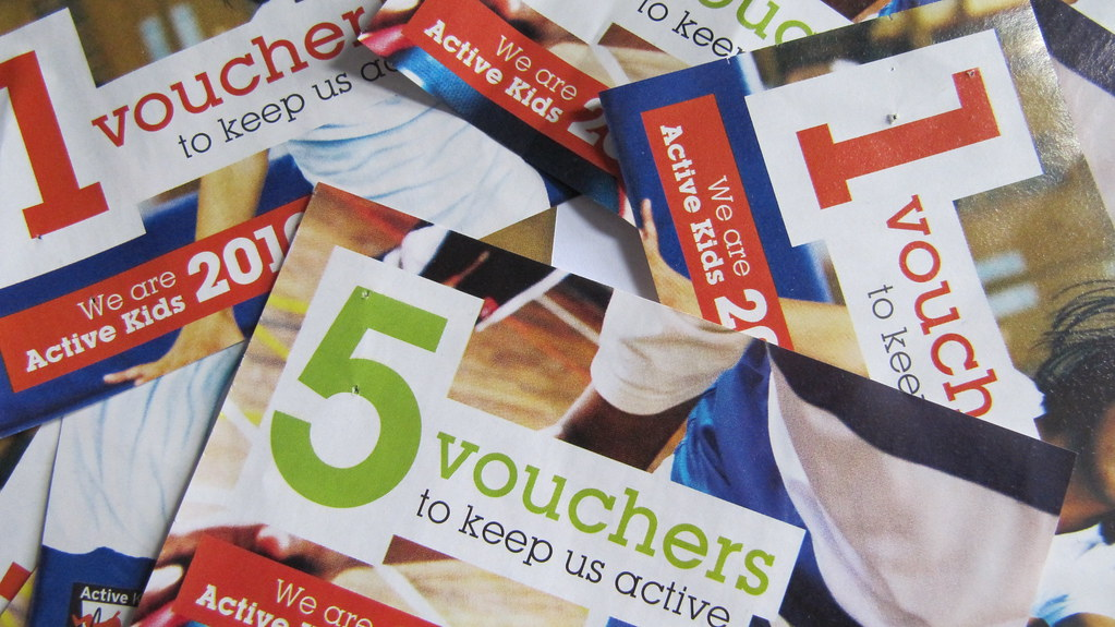 ask for vouchers