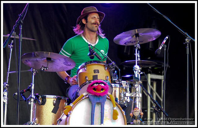 Matt Burr with The Nocturnals on Drums - All Good Festival ...