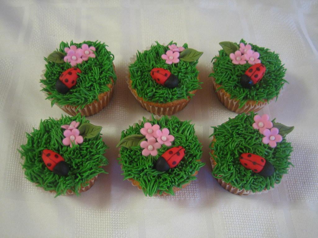 Garden Themed Baby Shower CakeCupcakes Garden Theme Baby Flickr
