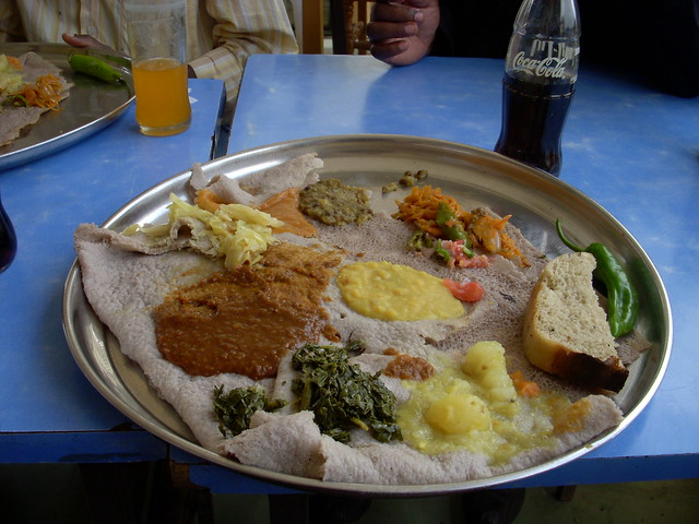 Traditional ethiopian food flickr photo sharing for Authentic ethiopian cuisine