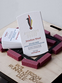 Running Doves Business Card | by Running Doves Press